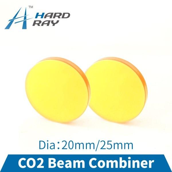 CO2 Laser Beam Combiner Lens Diameter 20mm 25mm to Adjust Light Path and Make Laser Visible