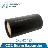 CO2 Beam Expander 2X 4X 8X ZnSe Fixed Beam Expander for Laser Engraving Cutting Machine