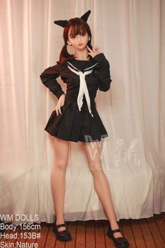 WM Doll ラブドール 156cm B-cup #153B TPE製
