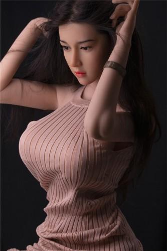 JY Doll ラブドール 170cm バスト大 シリコンヘッド 小倩 髪の毛植毛あり TPE製
