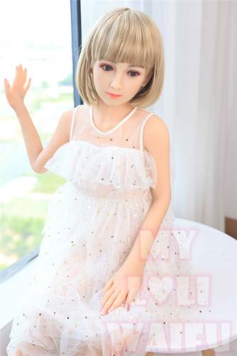 My Loli Waifu 略称MLWロり系ラブドール 126cmAAカップ 柚希Yuki頭部 TPE材質ボディー ヘッド材質選択可能 メイク選択可能
