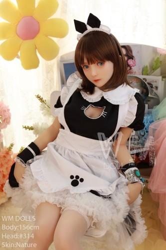 WM Doll ラブドール 156cm B-cup #314 TPE製