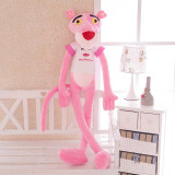 Creative Pink Leopard Plush Toys Home Plush Doll Ornaments Naughty Leopard Dolls Darang Leopard Plush Toys for kids Christmas Birthday Gifts