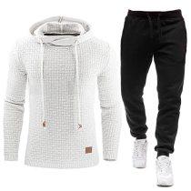 2020 New Tracksuit Hooded Sweatshirt+Pants Set S-5XL