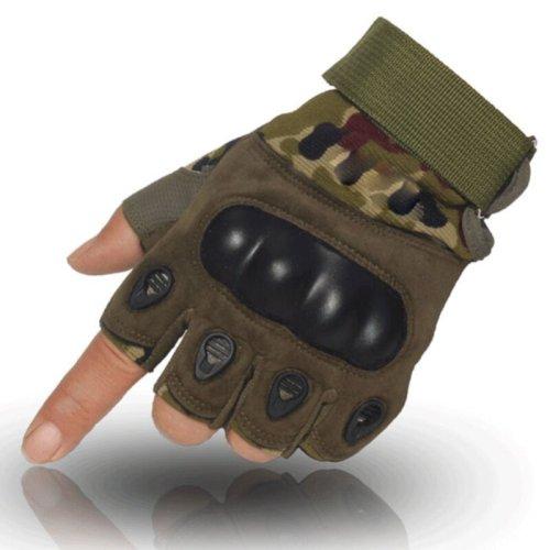 Non-slip outdoor sports half-finger gloves