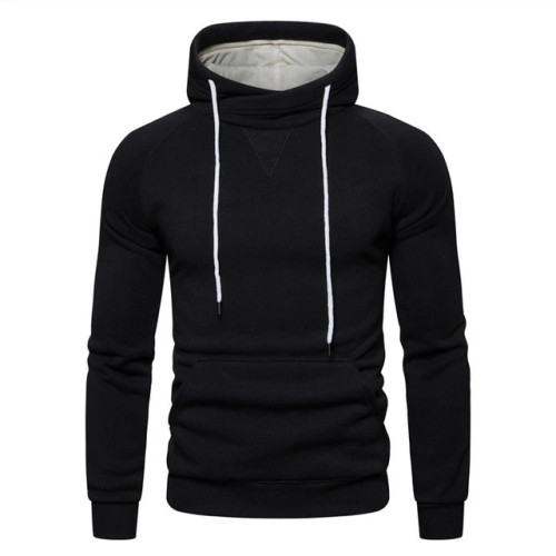 Cotton Hoodied Mens Sweatshirts Solid Hoodies