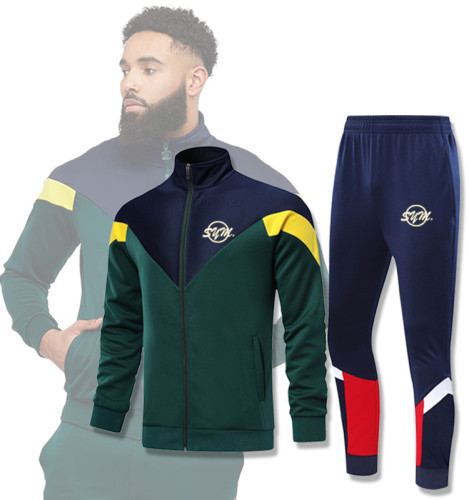 Autumn and winter morning running training suit