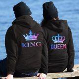 QUEEN KING Couple Sweatshirt