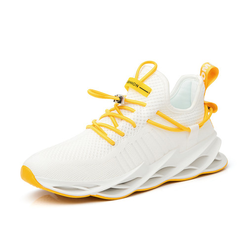 Casual increase breathable shark bottom winter running shoes