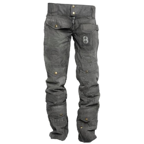 Outdoor retro multi-pockets wear-resistant military casual pants - Green