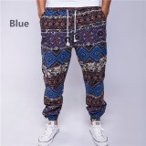 Ethnic style cotton and linen loose rope men's trousers(Buy 2 Free Shipping)
