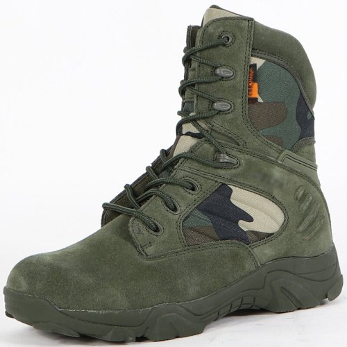 High-top fashion solid color mountaineering boots