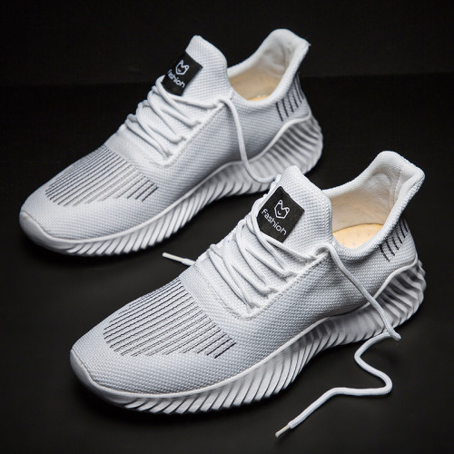 Men's new trendy shoes lightweight breathable jogging shoes