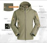 Army Camouflage Airsoft Jacket Men Military Tactical Jacket Winter Waterproof Windbreake