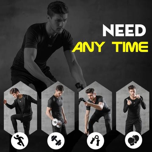 5 Pcs/Set Men's Tracksuit Gym Fitness Compression Sports Suit