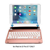 New iPad 2017 Keyboard, iEGrow F17 Wireless Bluetooth iPad 5th Generation Keyboard with Stand for iPad Air Model A1474/A1475/A1476 and New iPad Model A1822/A1823