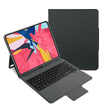 iEGrow P129S Bluetooth iPad Keyboard Case, Smart Folio Keyboard Cover for 2018 iPad Pro 12.9 3rd Gen [Only] with Pencil Holder Stand