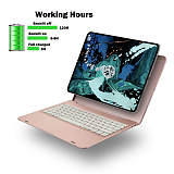 IEGrow Wireless Keyboard Case for iPad Pro 12.9, Bluetooth Folio Cover with Auto Wake/Sleep for 2018 3th iPad Pro