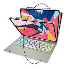 IEGrow Wireless Keyboard Case for iPad Pro 12.9, Bluetooth Folio Cover with Auto Wake/Sleep for 2018 3th iPad Pro
