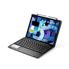 iPad Keyboard Case for New iPad Air 4 Generation 10.9  2020/iPad Pro 11  2018, Magic Keyboard Style Touchpad  Keyboard with Pencil Holder Cover - for iPad Air 4/ iPad Pro 11 Inches 2020/2018