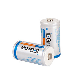 iEgrow NiMH 1.2V 6000mAh rechargeable battery (2Pack)