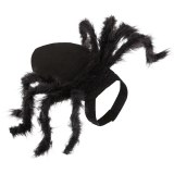 Halloween Pet Spider Clothes  Simulation Black Spider Puppy Cosplay Costume For Dogs Cats Party Cosplay Funny Outfit