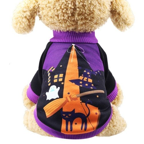 Halloween Carnival Cat Clothes  Funny Pet Clothes Winter Jacket Dog Halloween Costume Outfit For Small Dogs Two Feet Clothes
