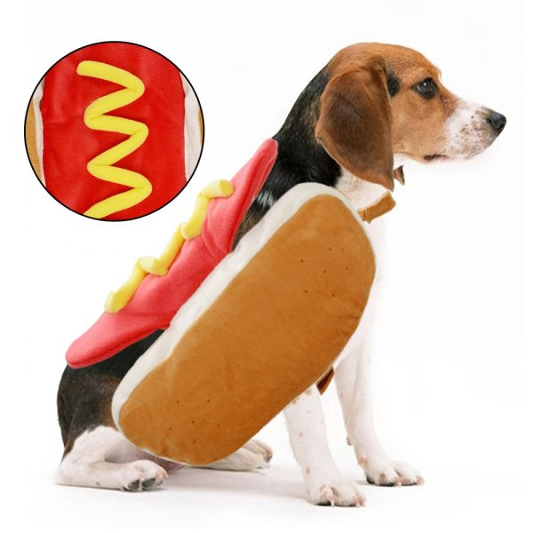 S/M/L Creative Dog Costume Pet Supplies Funny Dog Clothes Warm Practical Hot Dog Clothes Halloween Christmas Party Pet Products