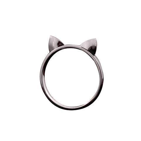Lucky Cat Ears Ring