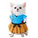 Pet Dog Funny Clothes Dogs Cosplay Costume Halloween Christmas Comical Outfits With Wig Set Pet Cat Dog Festival Party Clothing