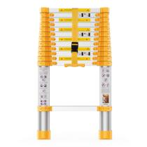 12.5FT Reinforced Telescoping Extension Ladder,