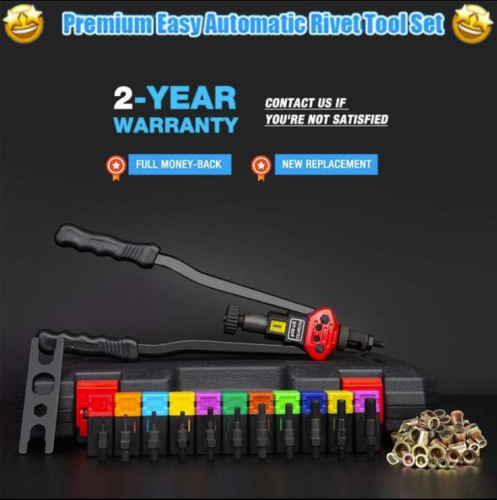 Easy Automatic Rivet Tool Set 【50% OFF】