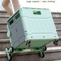【NEW IN】GROCERY CART HOUSEHOLD PORTABLE COURIER CART FOLDING SHOPPING CART