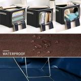 2021 Oxford Cloth Steel Frame Foldable Storage Box