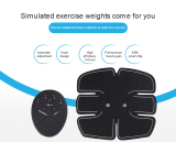 High Quality Intelligent Charging Abdominal Muscle Sticker Lazy Fitness Device Sports Equipment