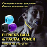 Food-grade Silica Gel JawLine Exercise Chew Ball Muscle Trainin Fitness Ball Neck Face Toning Jawrsize Jaw Muscle Training