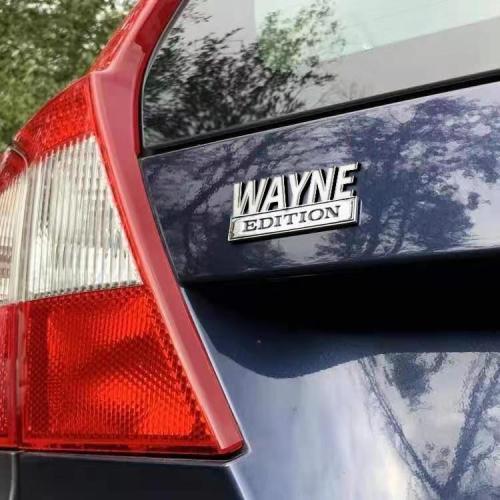 The Original WAYNE Edition Emblem Fender Badge