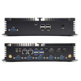 Industrial Fanless Mini PC Intel core i7 8565U i5 8265U HDMI Type-C RS232/485 COM SIM 4G