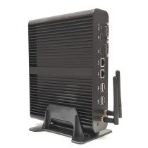 Dual Lan Dual HDMI Mini PC Network Server Core i7 5500U i5 5200U Fanless Micro Desktop Computer