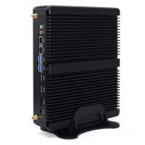 Pfsense Rugged Fanless Mini Industrial PC Intel core i5 8250U i7 8550U 3 Display Port SIM Card 4G Wifi