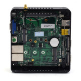Fanless Mutil Mini PC Intel Celeron J4125 J4105 1*DDR4 HD VGA HTPC low power