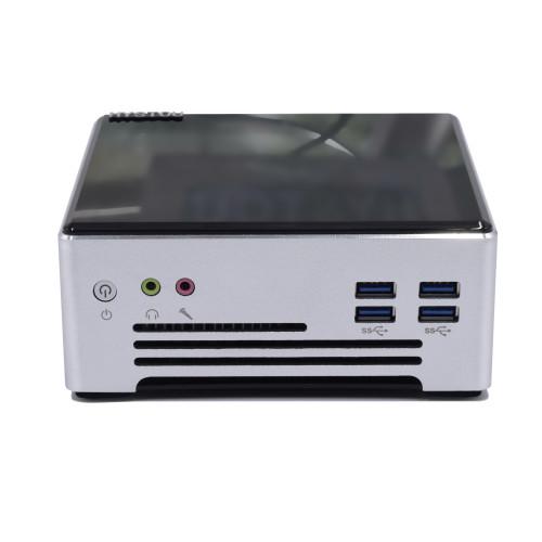 Mini PC Intel Core I7 9750H I9 9880H Wholesale Windows 10 pro Linux 4K Mini Desktop Computer WIFI with Fan