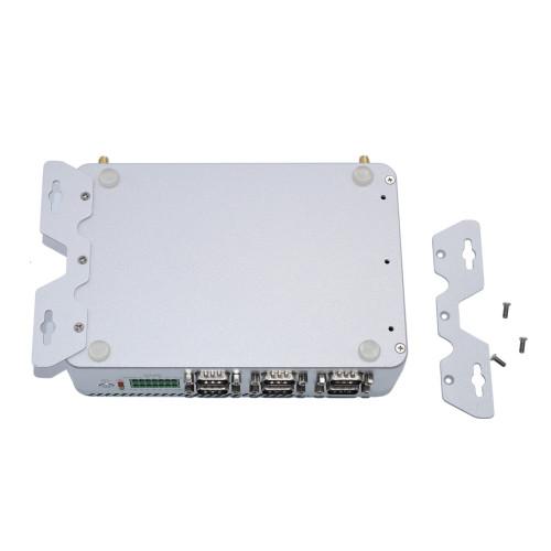 Almighty Fanless Industrial Mini Computer IPC Intel Core i3 6157u Dual Core 7x24 Hours 2*Lans RS232 RS485 port GPIO LPT HD VGA 4G/3G WiFi