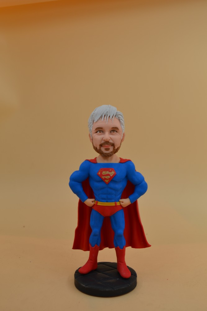 Create Your Own Bobblehead That Look Like You,Custom Bobbleheads:Super Fly Guy