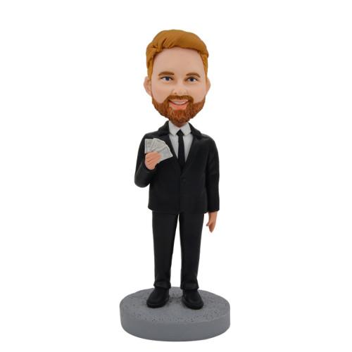 Custom bobblehead:Business Man 2