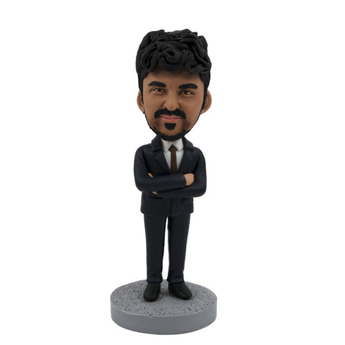 Custom bobblehead:Business Man 1