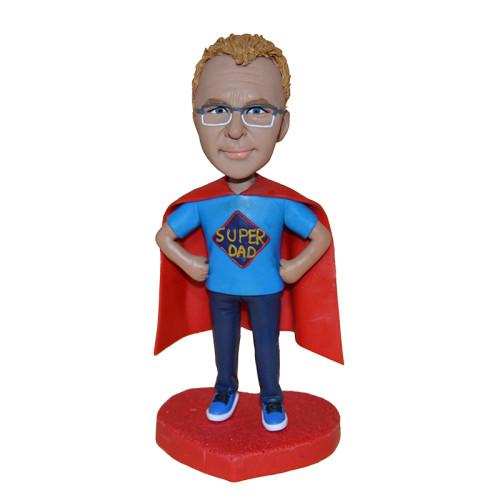 Custom bobblehead: Super Dad