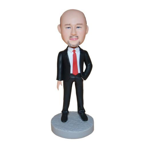 Custom bobblehead:Business Man 4