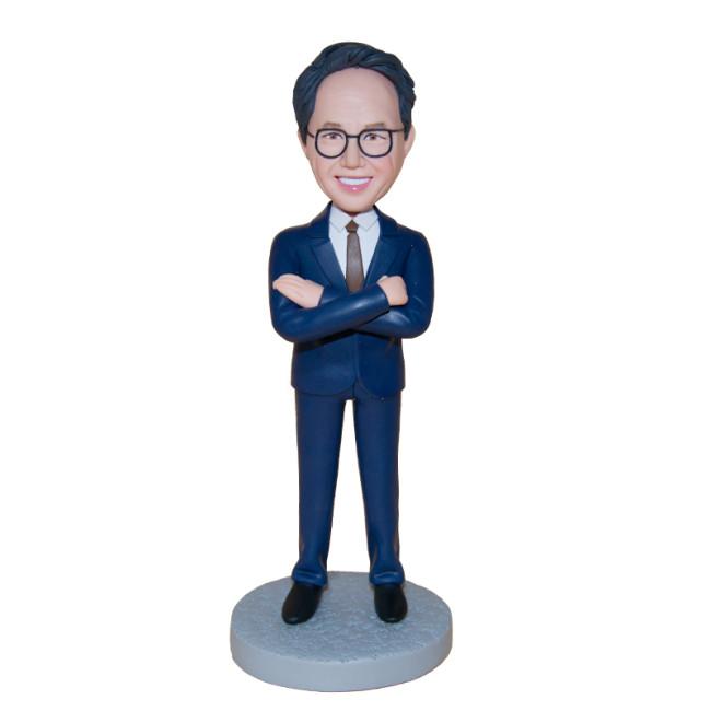 Custom bobblehead: Business Man 5