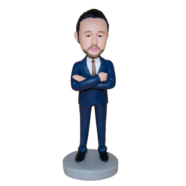 Custom bobblehead: Business Man 6